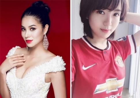 Sự khác biệt về nhan sắc của các người đẹp Việt 9X bằng tuổi