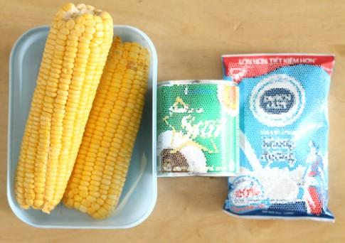 Sữa ngô bổ dưỡng cho ngày lạnh