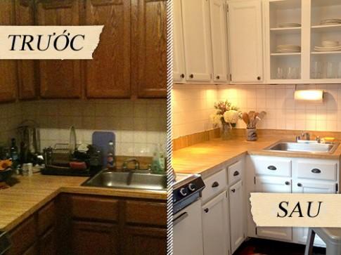 Sửa sang phòng bếp dưới 10 triệu đồng