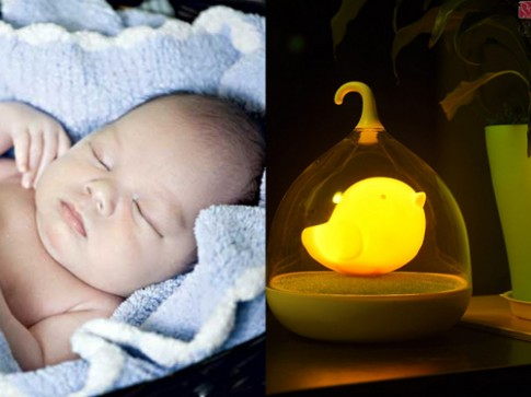 Tai hại 'giật mình' khi để trẻ sơ sinh ngủ dưới ánh đèn