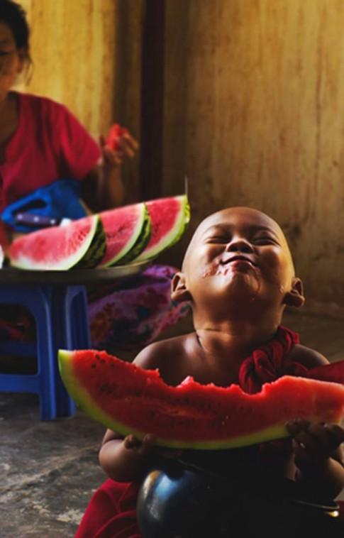 'Tan chảy' với những em bé có nụ cười đẹp nhất thế giới