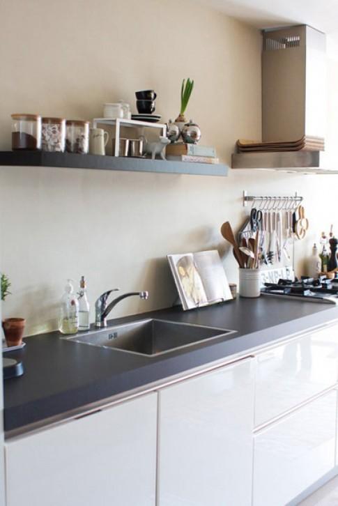 Thiết kế để biến căn bếp nhỏ thành rộng