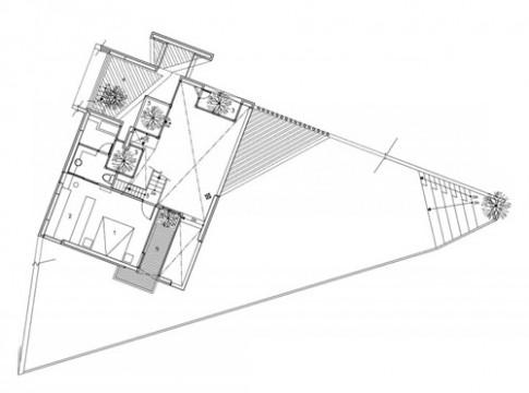 Thiết kế hợp lý cho mảnh đất méo