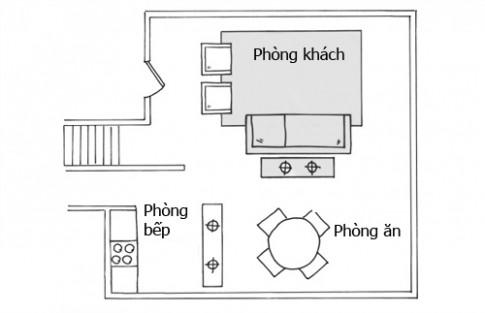 Thiết kế nhà chung cư 120m2 phù hợp cho gia đình trẻ