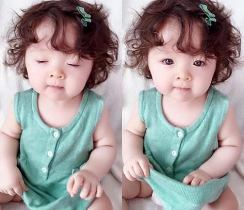 """Thời trang mùa hè """"bé nào cũng thèm"""" của con gái Elly Trần"""