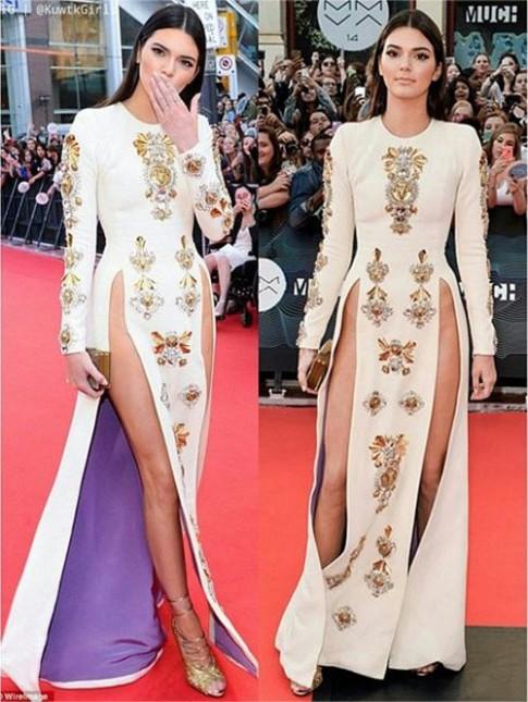 Thót tim vì váy xẻ táo bạo của hot girl số 1 Hollywood