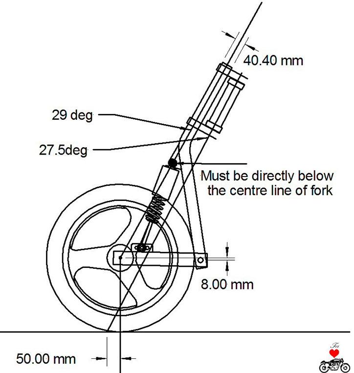 Tìm hiểu về cấu trúc càng trước xe máy