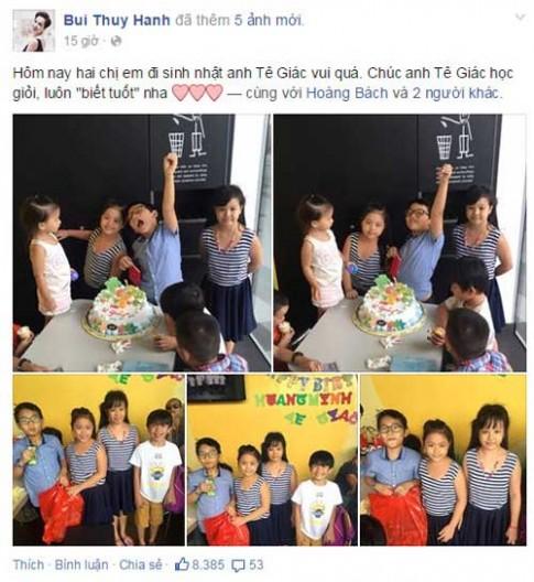 Trần Bờm, Suti nhí nhảnh dự sinh nhật Tê Giác