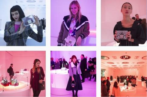 Trang Khiếu mặt mộc đi dự triển lãm thời trang tại Milan