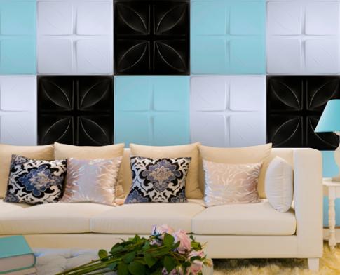 Trang trí nội thất với tấm ốp tường 3D