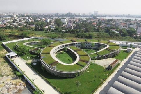 Trường mầm non xanh ở Đồng Nai vào top kiến trúc được thích nhất