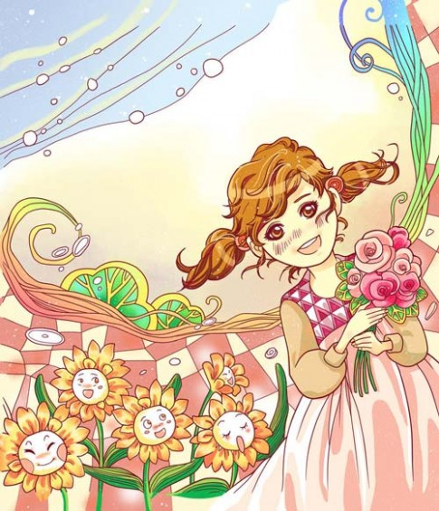 Truyen co tich: Nhung bong hoa cua co be Ida