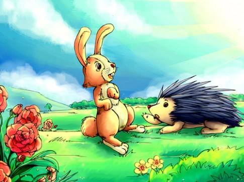 Truyện cổ tích: Thỏ và Nhím