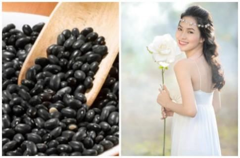 Tuyệt chiêu làm đẹp bằng đậu đen cho da trắng, dáng xinh