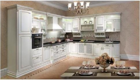 Ưu điểm của gỗ alder khi làm tủ bếp