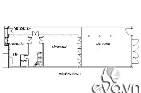Xây nhà phố 104m2 thoáng mát ở Đà Nẵng