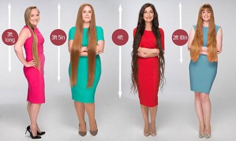 Xu hướng phụ nữ trung niên có mái tóc dài ngày càng tăng