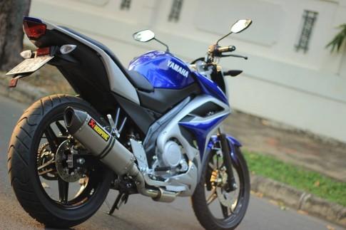 Yamaha Fz150i chế nhựa nhưng vẫn mạnh mẽ
