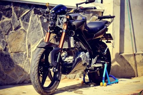 Yamaha FZ150i độ đầy phong cách của biker Vĩnh Long