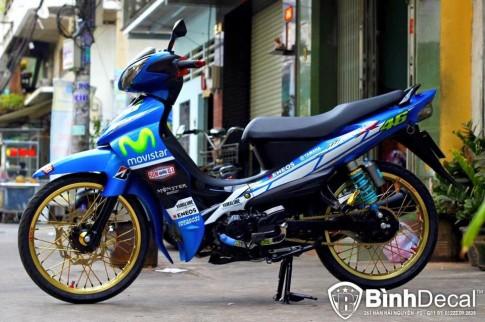 Yamaha Jupiter phiên bản Movistar đầy thể thao và phong cách