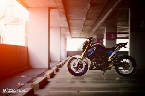 Yamaha M-Slaz độ ấn tượng với phiên bản Blue Machine