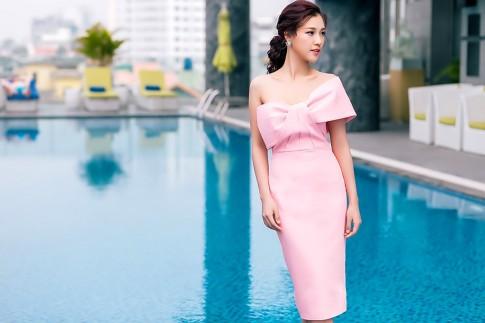 4 bí quyết giúp á hậu Hoàng Oanh luôn xinh đẹp, rạng rỡ