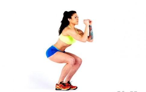 4 hiểu lầm các cô nàng thường mắc phải khi tập squat