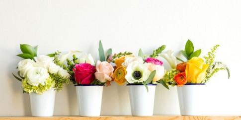 5 lỗi hay mắc phá hỏng bình cắm hoa hoàn hảo