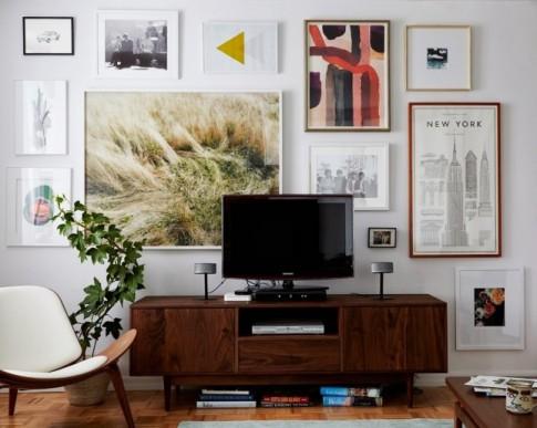 6 mẹo bày TV cho nhà nhỏ chẳng thêm chật chội