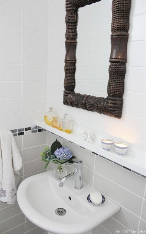 6 mẹo cực đỉnh nới rộng phòng tắm cho nhà nhỏ