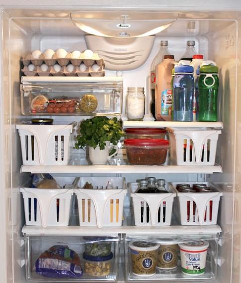 8 tuyệt chiêu 'nới rộng' tủ lạnh nhỏ cho nhà chật