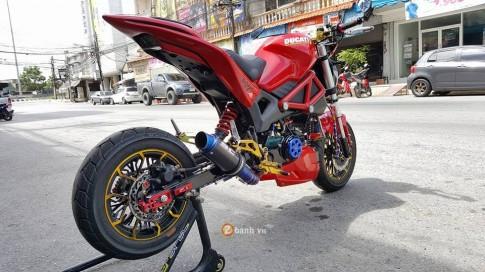 Ấn tượng cùng chiếc Ducati Monster phiên bản minibike