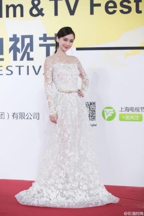 Angelababy đẹp như nữ thần tại LHP Thượng Hải
