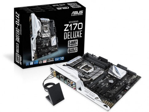 ASUS gioi thieu mainboard Z170: Ho tro chipset Intel the he thu 6