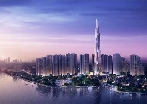 Báo ngoại sửng sốt với tòa nhà chọc trời cao nhất Việt Nam