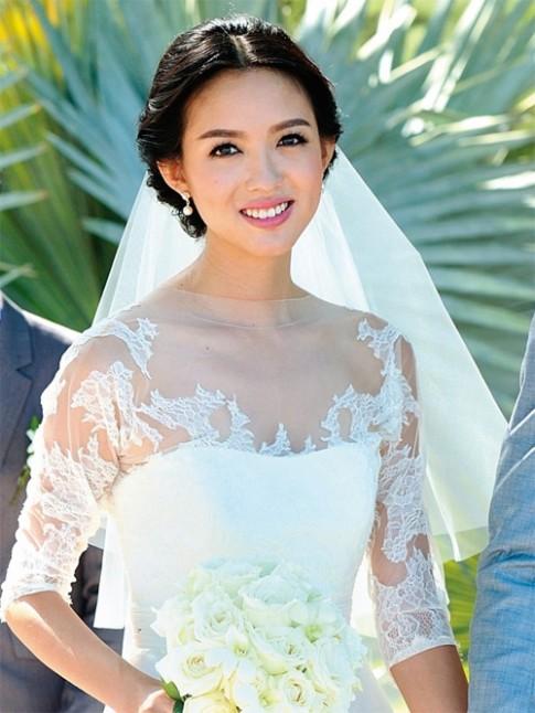 Bất ngờ với mặt mộc của hoa hậu đẹp nhất Trung Quốc