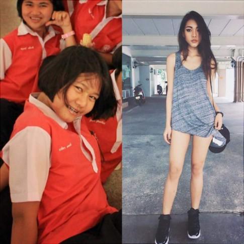 Bất ngờ với vòng eo 46 cm của hot girl Thái Lan