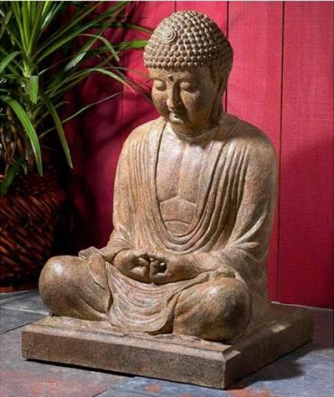 Bày tượng Phật xua điềm dữ, đón vận may