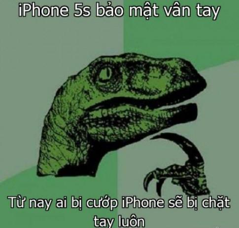 """Bé gái """"bẻ khóa"""" công nghệ nhận diện vân tay trên iPhone 5S"""