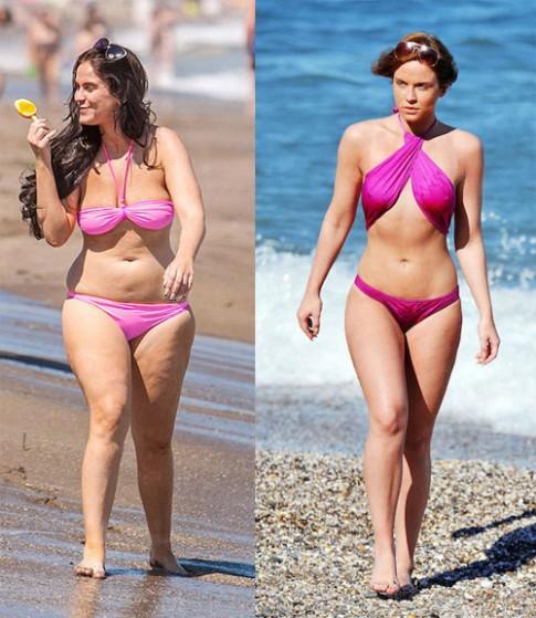 Bí mật sau màn giảm cân gây sốc nhất Anh quốc