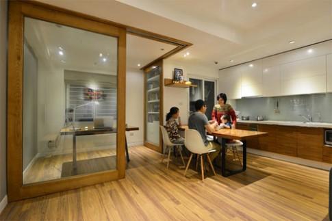 Các căn hộ 70 m2 với hai phòng ngủ