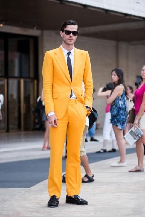Cách mix những bộ suit màu sắc nổi bật