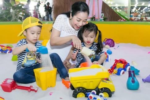 Cách nuôi dạy con thông minh của mẹ 3 con Ốc Thanh Vân.