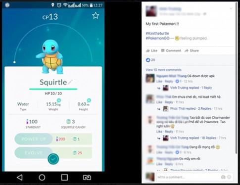 """Cách tải game Pokémon GO siêu """"hot"""" lên iPhone và Android"""