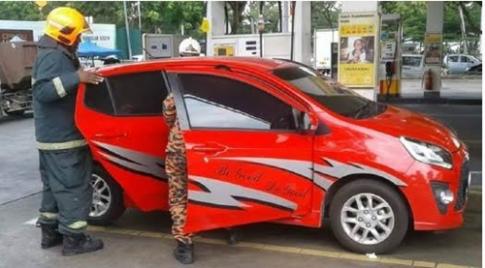 Cái kết đắng lòng cho người phụ nữ nghe điện thoại ở trạm xăng