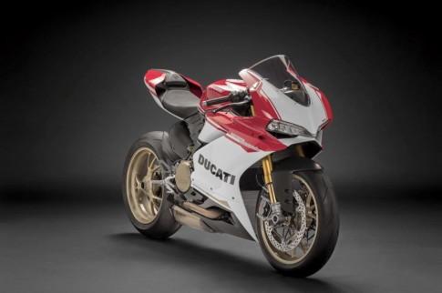 Cận cảnh Ducati 1299 Panigale S Anniversario phiên bản đặc biệt kỷ niệm 90 năm