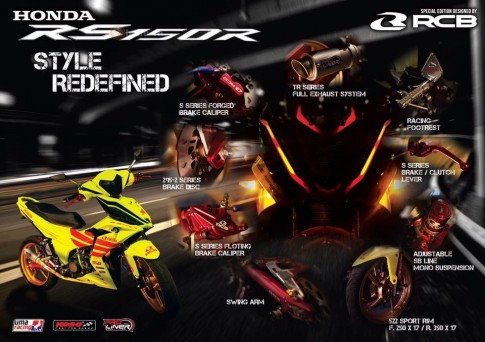 Cận cảnh Honda Winner 150 độ phiên bản Full Racing Boy