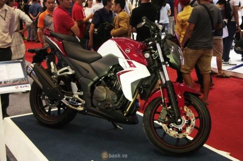 Cận cảnh SYM Wolf T3 mẫu nakedbike hiện đại và thể thao