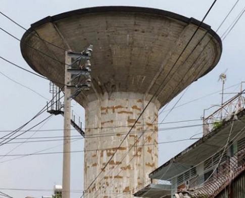 """Cận cảnh thủy đài khổng lồ sắp được """"hóa kiếp"""" ở Sài Gòn"""