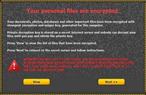 Cẩn trọng với virus mã hóa dữ liệu và đòi tiền chuộc